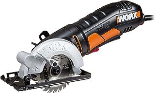 WORX WX423 WORXSaw cirkelsåg 400 W för sågning av trä, metall, PVC och keramik – kompakt dyksåg för exakta snitt och perfe...