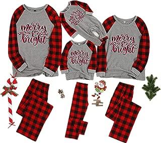 Matching Family Pjs Christmas Entire Family Jammies Cotton Pajamas Sets Best Kids Sleepwear Xmas A1