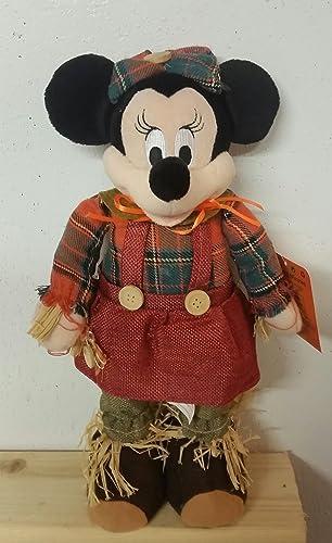 Minnie Maus Vogelscheuche Plüschtier, 35,6 cm