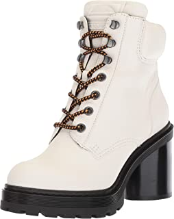 Marc Jacobs Women's Crosby Hiking Boot Ankle, white, 40.5 M EU (10.5 US)