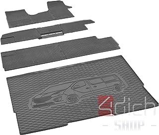 Passgenaue Kofferraumwanne und Gummifußmatten geeignet für OPEL Vivaro B ab 2014 bis 2019 L2 + Autoschoner MONTEUR