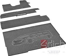 Design-3D-TPE-Gummifußmatten für Opel Vivaro B Doppelkabine 2014