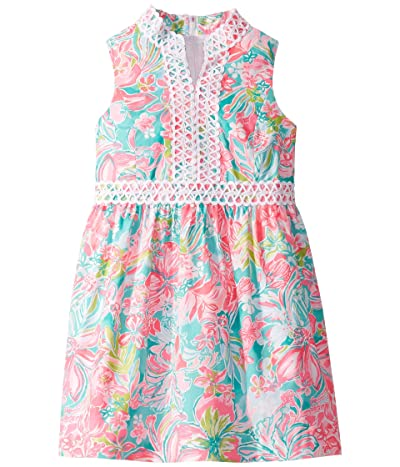 Lilly Pulitzer Kids Mini Franci Dress (Toddler/Little Kids/Big Kids) (Multi Hot On The Scene) Girl