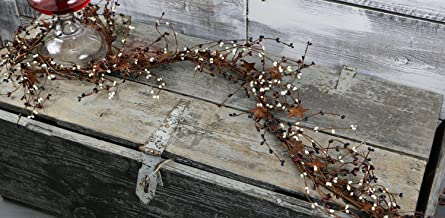 """Pip & 3-D Rusty Star Garland, 40"""" - Country Mix"""