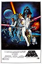 chronical collection Star Wars: A New Hope Movie Poster 12 x 12 Inch