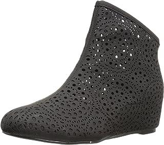 N.Y.L.A. حذاء برقبة للكاحل للنساء