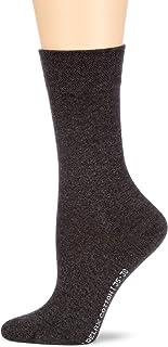 Hudson RELAX COTTON Damen Socken, Baumwollsocken Damen ohne Gummibund, Frauen Socken mit verstärkter Sohle hautfreundlich, viele Farben Menge: 1 Paar