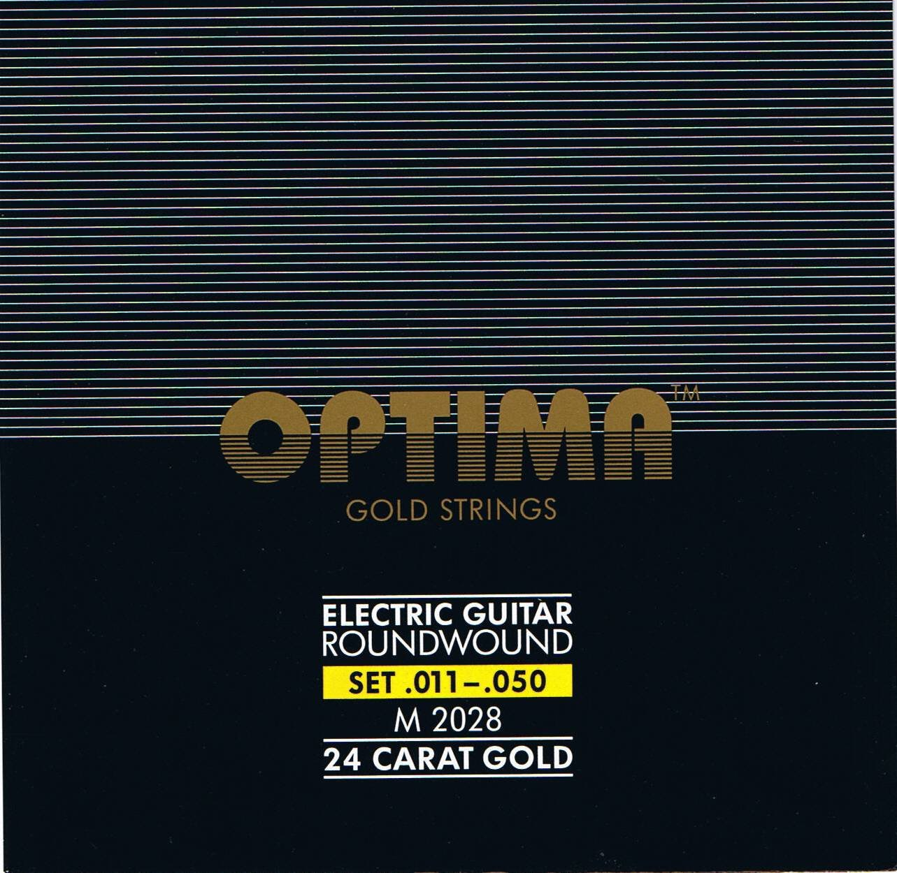 Cheap Optima 24 K Gold Plated Electric Guitar Strings .011-.050 Black Friday & Cyber Monday 2019