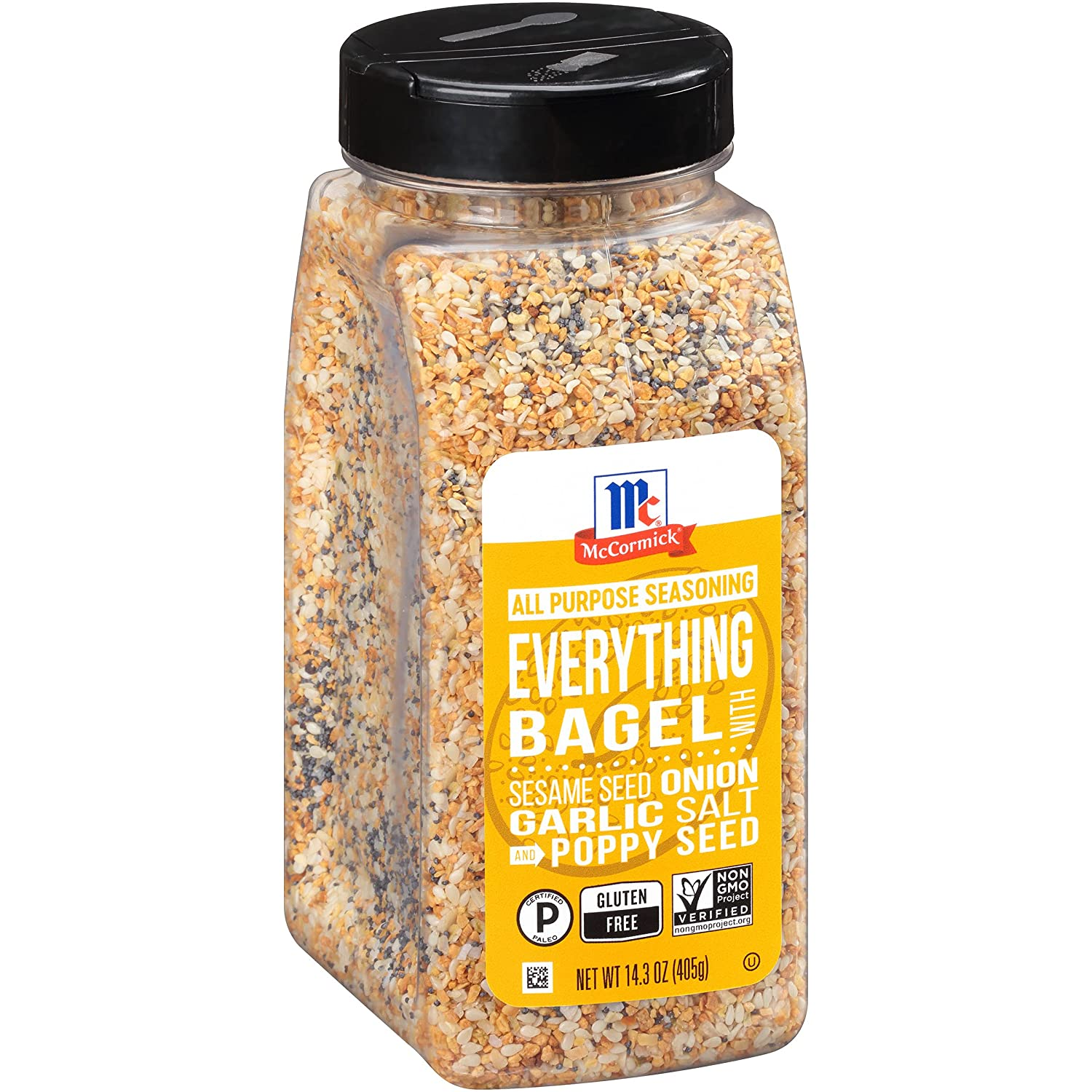 McCormick Now on sale Everything Bagel All Seasoning oz 14.3 Purpose In a popularity