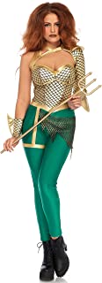 Women's Sexy Aqua Warrior Hero Costume
