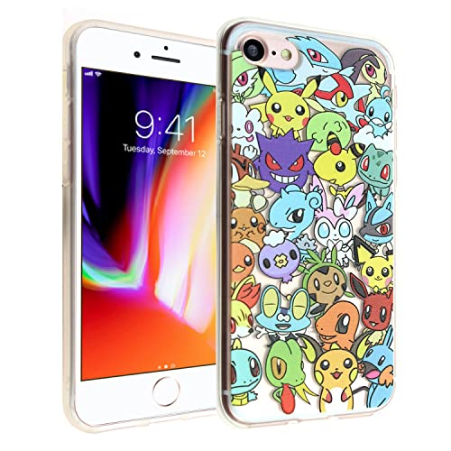 Pokemon Go - iPhone 7 Case iPhone 7 Plus Case iPhone 7 Cover