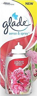 Glade Recambio para Ambientador Automático Sense & Spray con sensor de movimiento, Fragancia Peonía y Cereza,  1 recambio - 18 ml