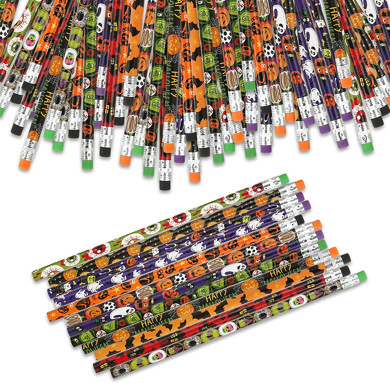 KESOTE Long Beach Mall Halloween Pencils for online shopping Par with Kids Erasers