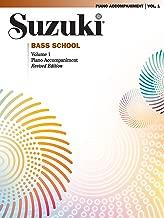 Suzuki Bass School, Vol 1: Piano Acc.