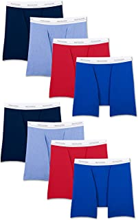 Men's Active Cotton Blend Lightweight Boxer Briefs