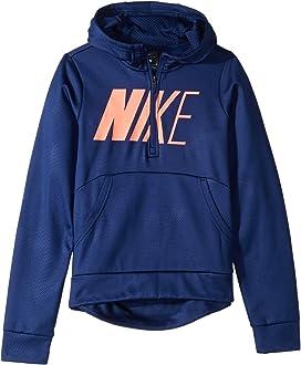 52aa38f648b0 Nike Kids Therma Pullover Hoodie Energy (Little Kids Big Kids) at ...