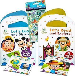 Disney Baby Pop Up Books Set Disney Bedtime Storybook Bundle ~ 8 Pack Disney Story Book Collection Bedtime Favorite Books ...