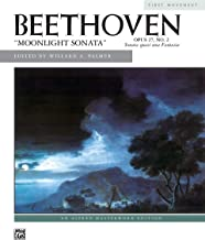 Best beethoven moonlight sonata 1st movement sheet music Reviews
