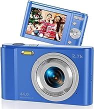 Rosdeca 44MP 2.7K Digital Camera Kids Camera for...