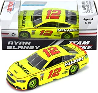 Lionel Racing Ryan Blaney 2018 Duracell/Menards NASCAR Diecast 1:64 Scale