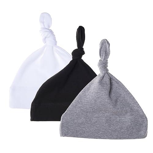318f47c75c7 Mato   Hash Unisex Baby 100% Cotton Adjustable Knot Hat