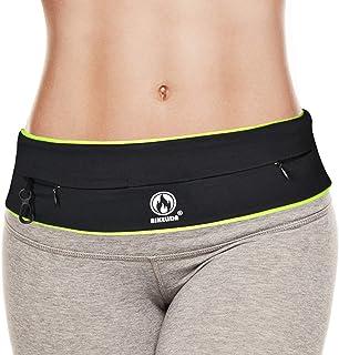 Running Belt for Women, Waterproof Workout Fanny Pack for Men, Phone Holder for Running, Non-Bounce Waist Pack Bag Belt Po...