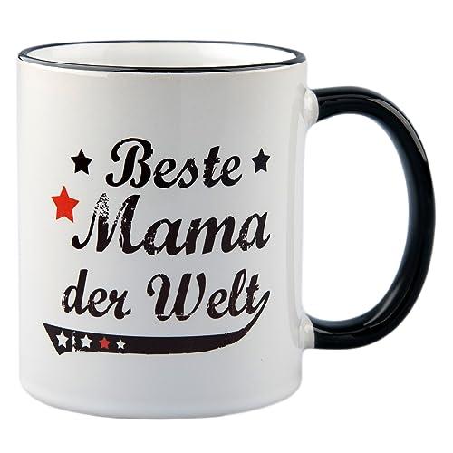 """WANDKINGS Tasse Farben Geschenk Geburtstag Spruch /""""Gut gemacht Mama/"""" versch"""