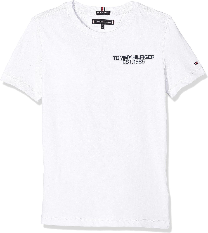 Graphic Tee S//S T-Shirt Gar/çon Tommy Hilfiger Essential Class