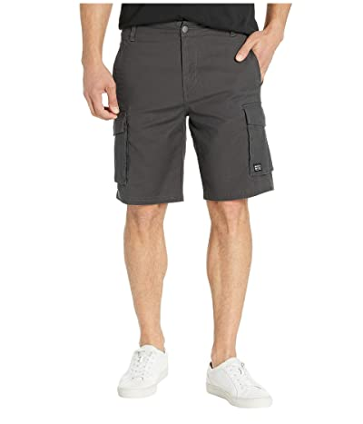 RVCA Wannabe Cargo Walkshorts (Pirate Black) Men