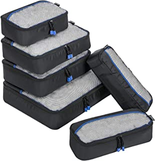 ZOMAKE アレンジケース トラベルポーチ 6点 セット ワイシャツケース スーツケース 旅行出張用 収納バッグ 靴収納 大容量 分類