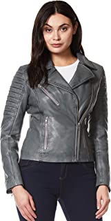 Best grey womens biker jacket Reviews