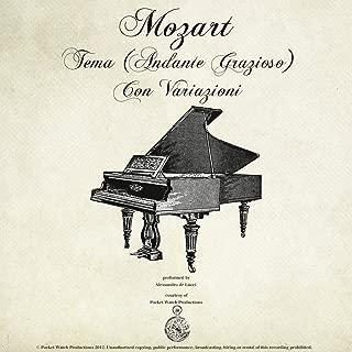 Mozart: Piano Sonata No. 11 in A, K.331 'Alla Turca', I, Tema (Andante Grazioso) Con Variazioni