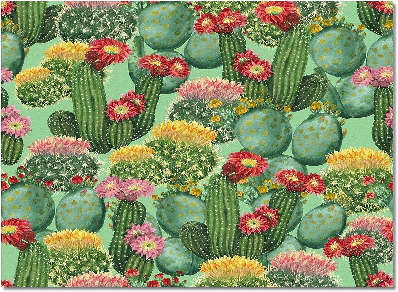 DaringOne Cactus AreaRugs Floor 24x36inchPrintedAreaCarpet Save Japan Maker New money