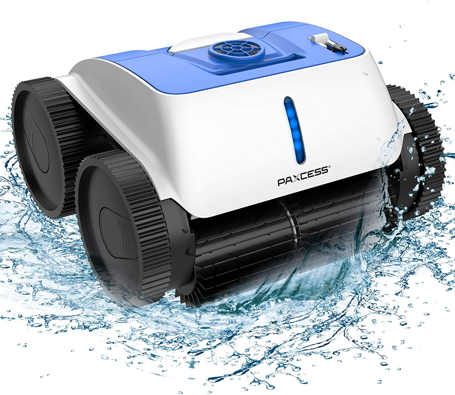 PAXCESS Cordless Robotic Pool store Cleaner w Wall-Climbing - Direct stock discount Function