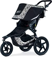 BOB Gear Revolution Flex 3.0 Jogging Stroller - Up to 75 pounds - UPF 50+ Canopy - Adjustable Handlebar - Easy Fold, Lunar Black