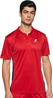 Amazon Brand - Symactive Men's Solid Regular Polo Shirt