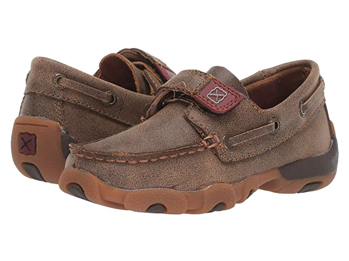 Twisted X  Driving Moc Boat Shoe (Toddler/Little Kid) (Bomber) Shoes