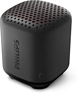 Philips Bluetooth Speaker S1505B/00 (Durable and IPX7 Waterproof, 8 Hours' Playback Time, Passive Bass Radiator, 20-m Rang...