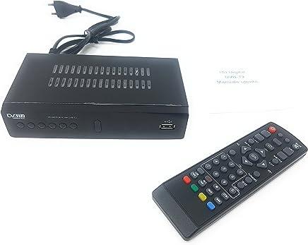 tempo di saldi Decoder Ricevitore Digitale Terrestre HD Dvb t2 USB hdmi Presa Scart Televisione