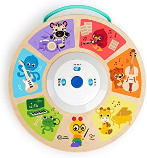 Baby Einstein Cal's Smart Sounds Symphony Magic Touch Wooden Electronic Activity Toy, Ages 6 Months +