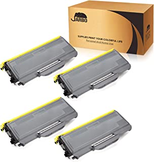 JARBO Compatible for Brother TN360 TN-360 TN330 TN-330 Toner Cartridges High Yield, 4 Black, use with Brother HL-2170W HL-2140 DCP-7040 DCP-7030 MFC-7840W MFC-7340 MFC-7345N Printer