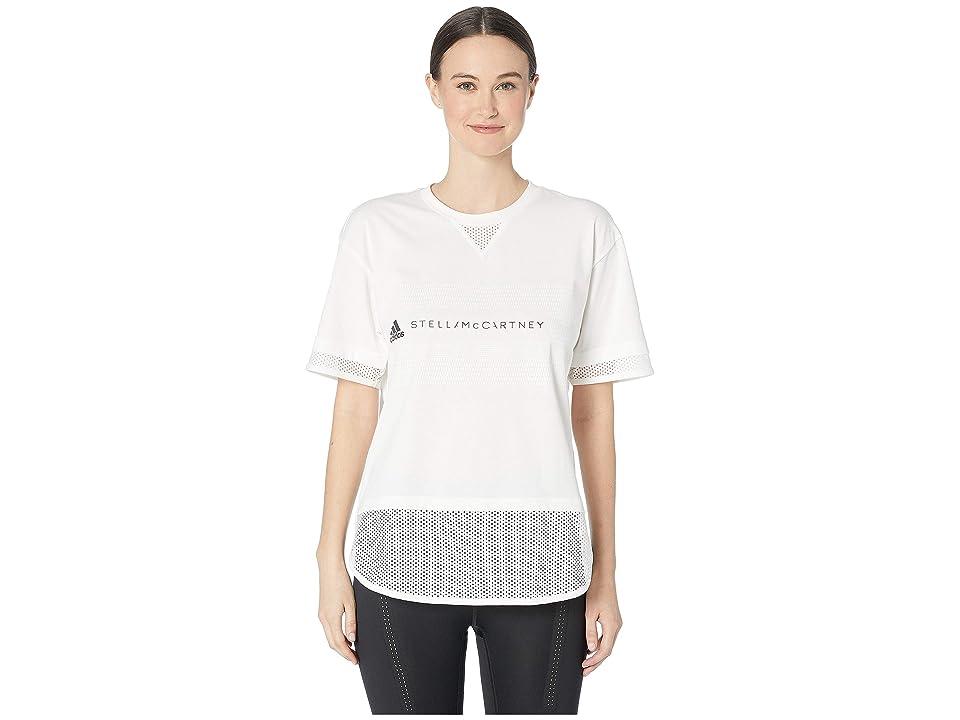 adidas by Stella McCartney Logo Tee DT9227 (Core White) Women