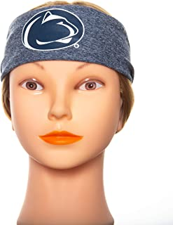 Penn State Nittany Lions Running Headband - Unisex Headbands for Women and Headbands for Men. Non Slip Fabric Keeps Sweat at Bay During Any Workout