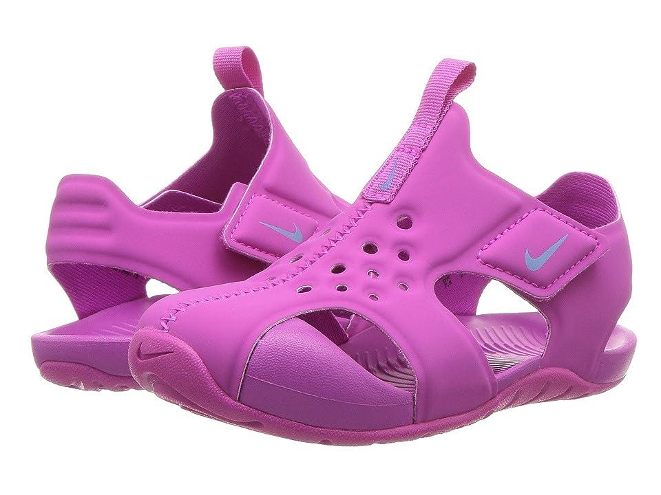 Nike Kids Sunray Protect 2 (Infant/Toddler) (Hyper Magenta/Royal Pulse) Girls Shoes