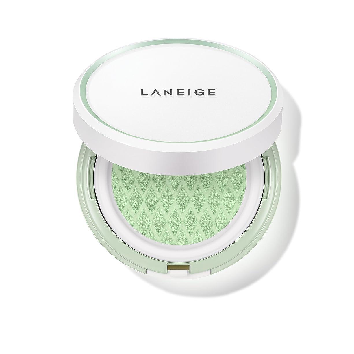 基礎理論繰り返した君主制ラネージュ[LANEIGE]*AMOREPACIFIC*[新商品]スキンベなベースクッションSPF 22PA++(#60 Light Green) 15g*2 / LANEIGE Skin Veil Base Cushion SPF22 PA++ (#60 Light Green) 15g*2 [海外直送品] [並行輸入品]