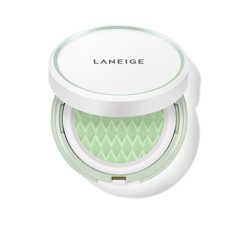 マートトーストインストールラネージュ[LANEIGE]*AMOREPACIFIC*[新商品]スキンベなベースクッションSPF 22PA++(#60 Light Green) 15g*2 / LANEIGE Skin Veil Base Cushion SPF22 PA++ (#60 Light Green) 15g*2 [海外直送品] [並行輸入品]
