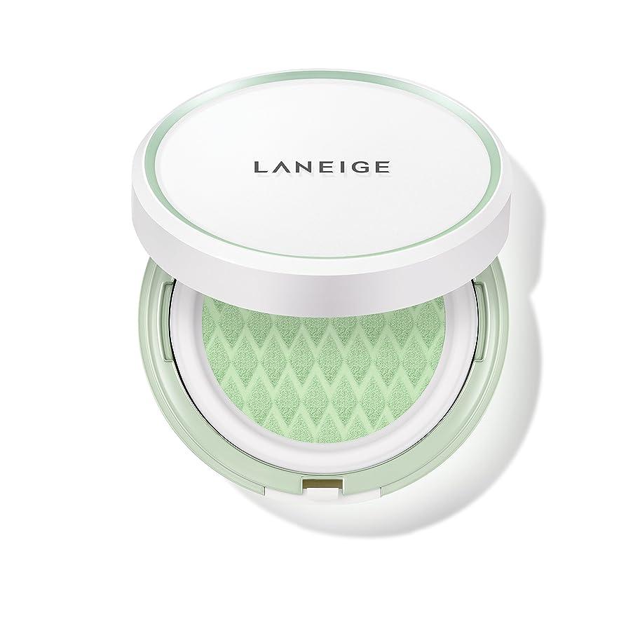 グローちらつき前投薬ラネージュ[LANEIGE]*AMOREPACIFIC*[新商品]スキンベなベースクッションSPF 22PA++(#60 Light Green) 15g*2 / LANEIGE Skin Veil Base Cushion SPF22 PA++ (#60 Light Green) 15g*2 [海外直送品] [並行輸入品]