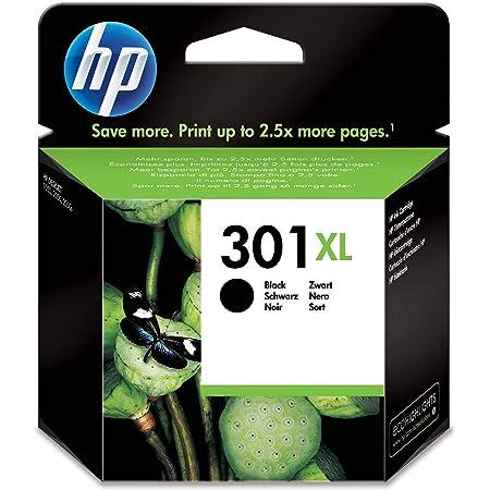 HP CH563EE 301XL High Yield Original Ink Cartridge, Black, Single Pack