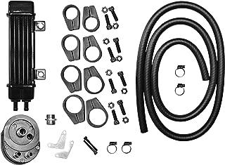 Jagg Oil Coolers Vertical 6 Row Oil Cooler - Slimline - Black 750-1200