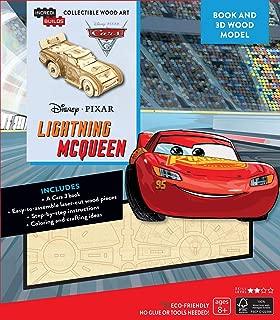 IncrediBuilds Disney Pixar Cars 3: Lightning McQueen 3D Wood Model and Book